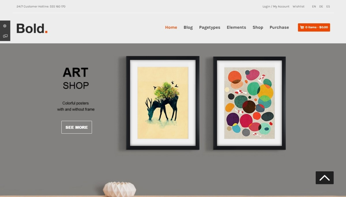 Wordpress eCommerce - 500 templates for online store
