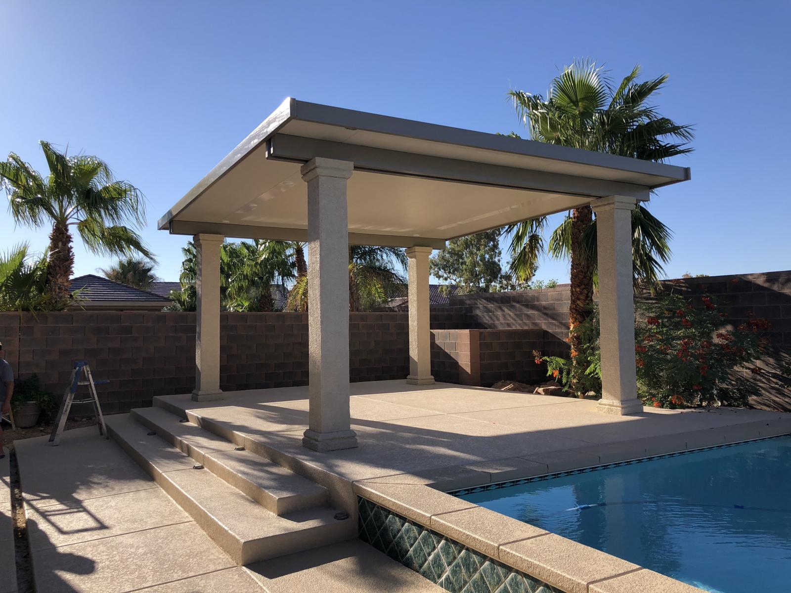 freestanding patio covers las vegas