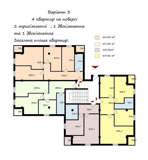 В Украине разработан жилой дом стоимостью 4,5 тыс. грн. за кв.м