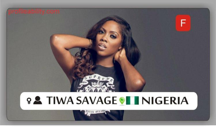 Tiwaa Savage Profile