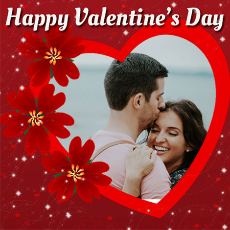 Valentines Day 2019 Profile Picture Frame