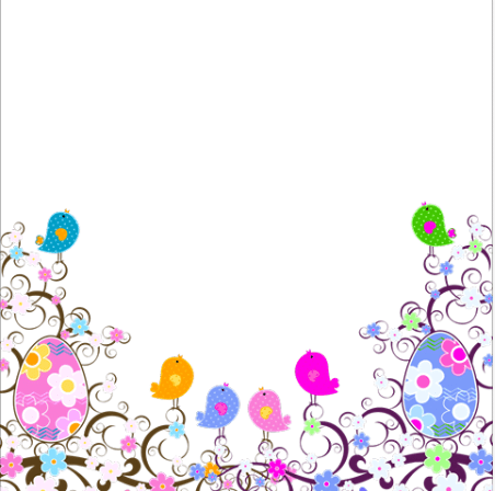 Easter Day Toni Tails Frame