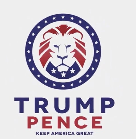 Trump Pence Logo Profile Picture Frame
