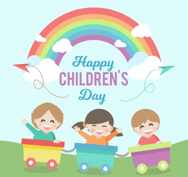 Children's Day Profile Frame