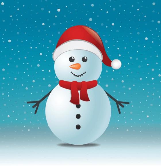 Snowman Profile Frame