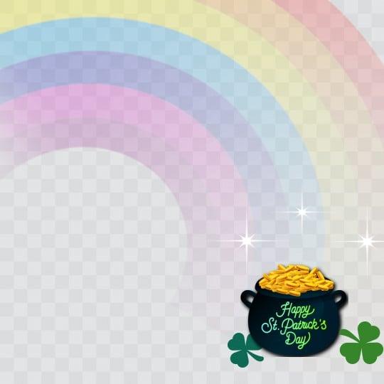 St Patrick's Day Profile Frame