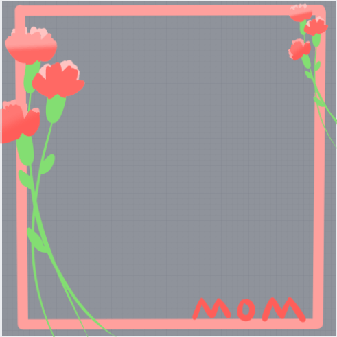 Happy Mothers Day Profile Frame