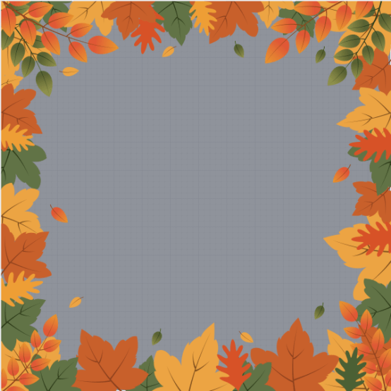 Autumn Profile Frame