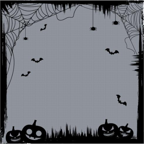 Halloween Horror Frame