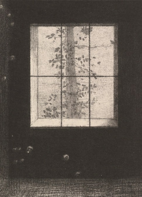 Odilon Redon (1840-1916 French) • Le Jour (from the Dream series) 1891