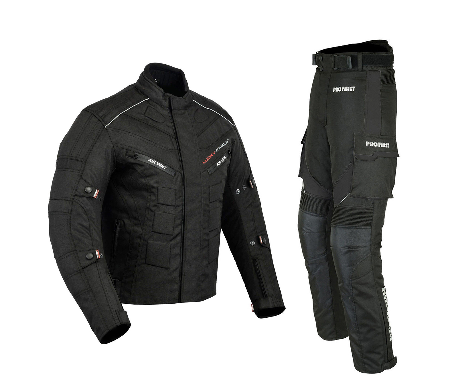 Black /& Green, Medium JKT-007 6 Packs Design Most Popular Waterproof Motorbike Motorcycle Jacket in Cordura Fabric and CE Approved Armour