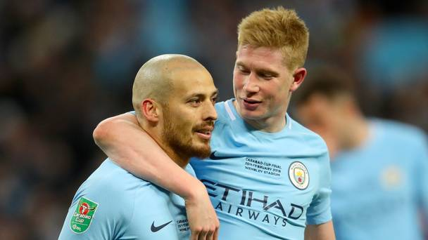 Kevin De Bruyne happy to play second fiddle to David Silva