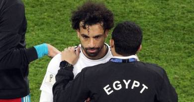 Salah's season all but over as Russia beat Egypt
