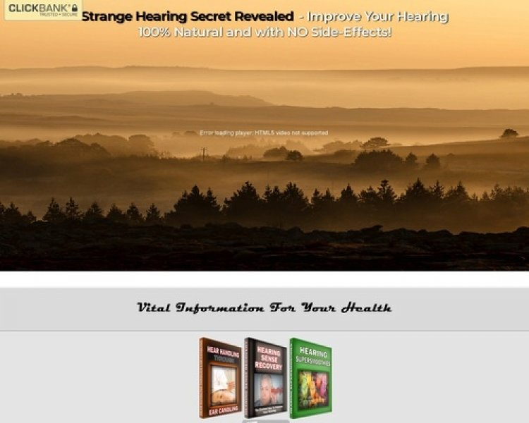 Hearing Sense Recovery – Best Hearing Recovery Offer On CB