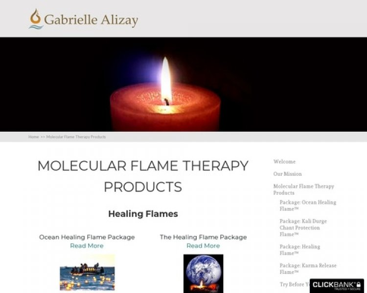 Molecular Flame Therapy