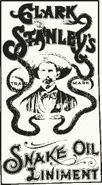 Clark Stanley's Snake Oil Liniment. Before 1920.