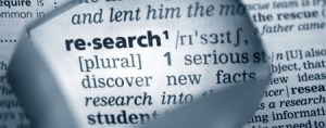 Research is fundamental to the advancement of knowledge
