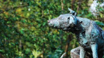 Brown Dog Statue in Battersea Park | ProfJoe Cain