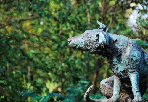 Brown Dog Statue in Battersea Park | ProfJoe Cain