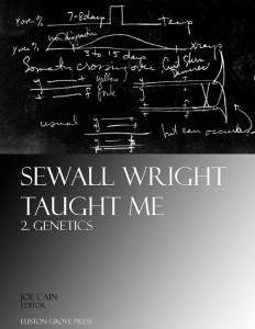 Genetics: Sewall Wright Taught Me, volume 2. Edited by Joe Cain. ISBN 9781906267032