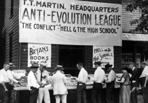T.T. Martin Headquarters, Anti-Evolution League at 1925 Scopes Monkey Trial