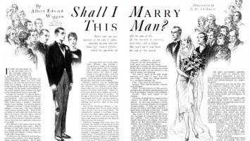 Albert Edward Wiggam 1927 Shall I Marry This Man?