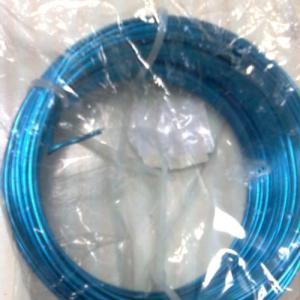 Arame aluminio 2mm 12mt Azul turquesa