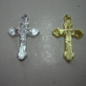 Crucifixo só em ouro 2,5cm altura