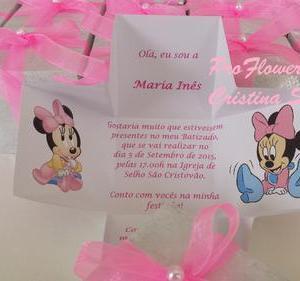 Convite caixa Disney