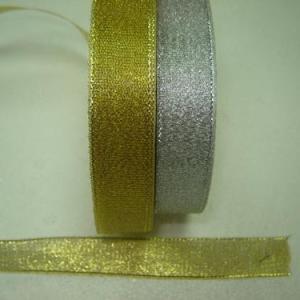 Fita tecido brilhante 2cm x 23mt PRATA