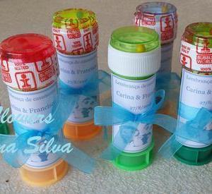 Tubo de bolas de sabão personalizado