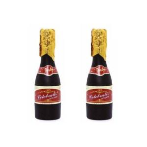 Canhão de confetis em forma de garrafa de champanhe 3
