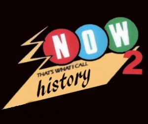 now thats what i call history logo