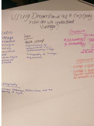 vintage essay plan 2