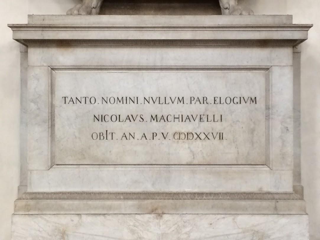 Maquiavel e o TSE