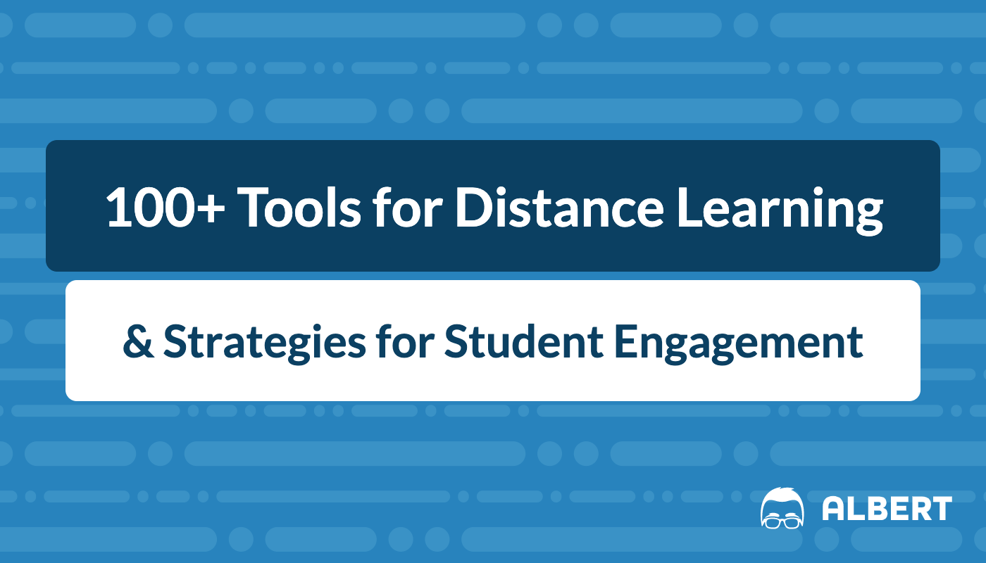 121 Tools For Distance Learning Amp Strategies For Student