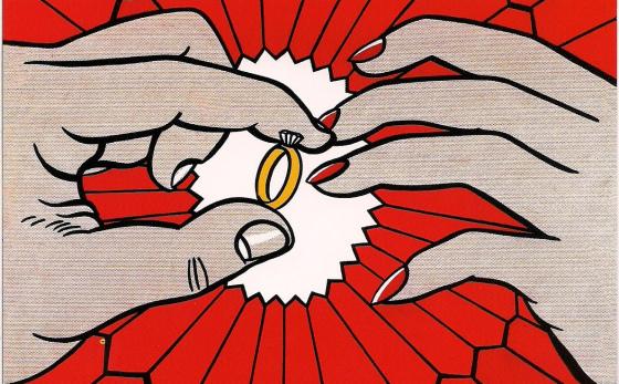 """""""The Ring"""", Roy Lichtenstein, 1962"""