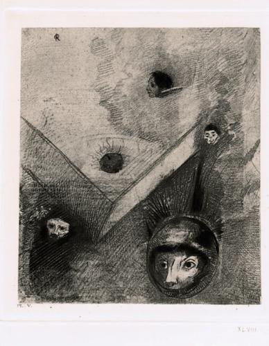 Les Fleurs du mal interprétées par Odilon Redon, 1890 « Sur le fond de mes nuits, Dieu, de son doigt savant, dessine un cauchemar multiforme et sans trêve ».