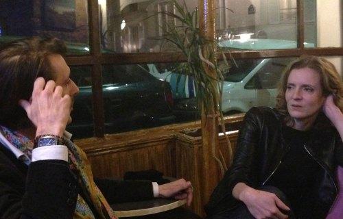 NKM rencontrant le Maire de la Nuit à Paris