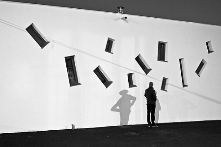 La silhouette, série : Parade  © Guillaume Martial