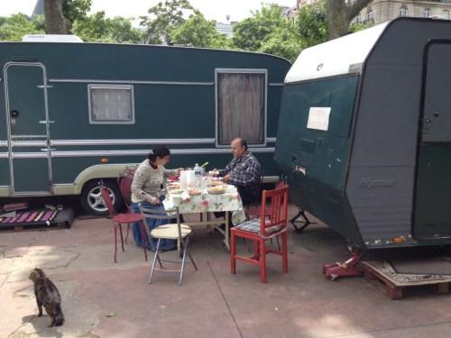 Nous avons déjeuné cette semaine avec Delia et Alexandre Romanès