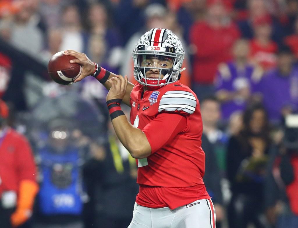Justin Fields 2021 NFL draft quarterback