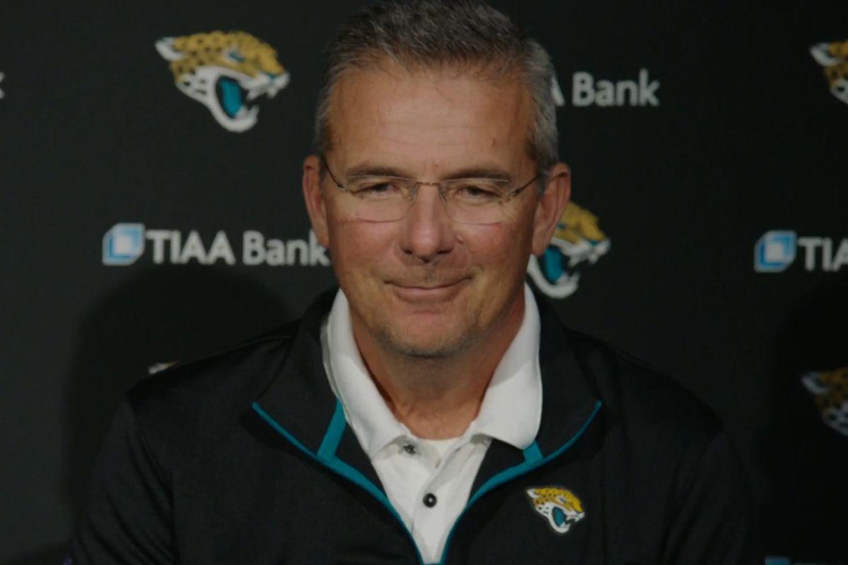 Urban Meyer Jacksonville Jaguars