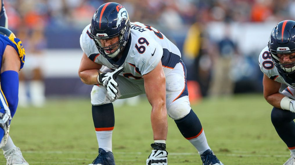Ravens claim tackle Jake Rodgers off waivers from Broncos