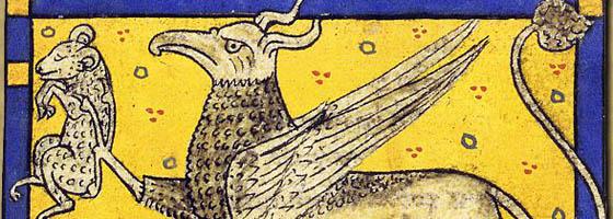 griffon - livre des etres imaginaires - borges