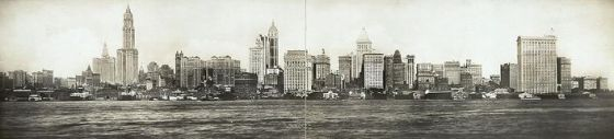 new york skyline 1911