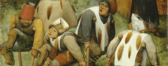 les mendiants bruegel