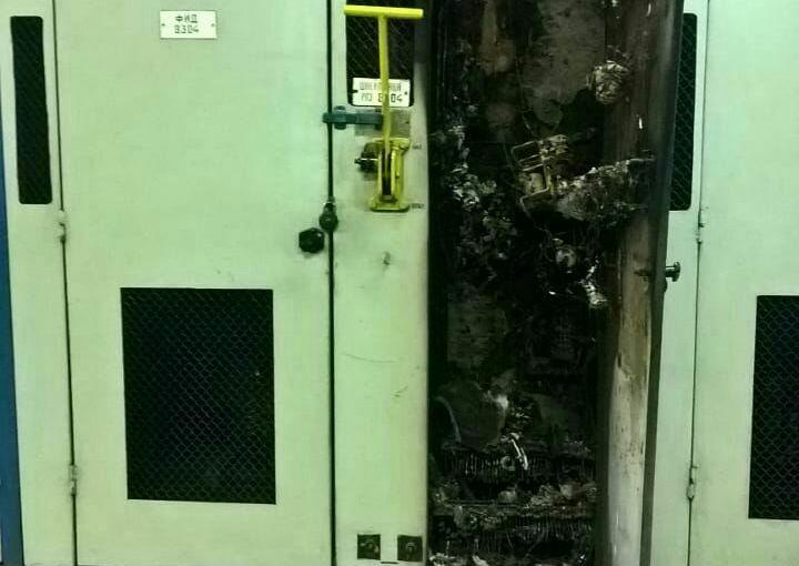 Сгорел автоматический выключатель