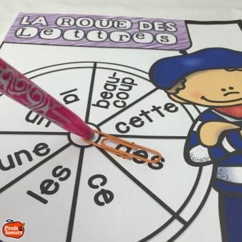 Une roue, des mots et un trombone pour rendre les jeux de mots excitants // par Profs et Soeurs
