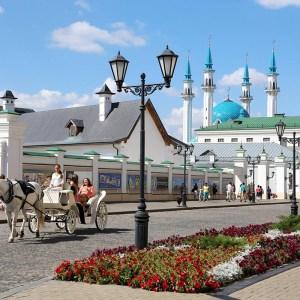 Пешие прогулки по Казани